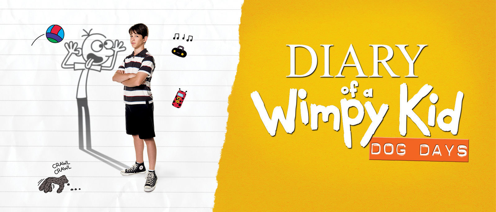 Diary of a Wimpy Kid: Dog Days Hero