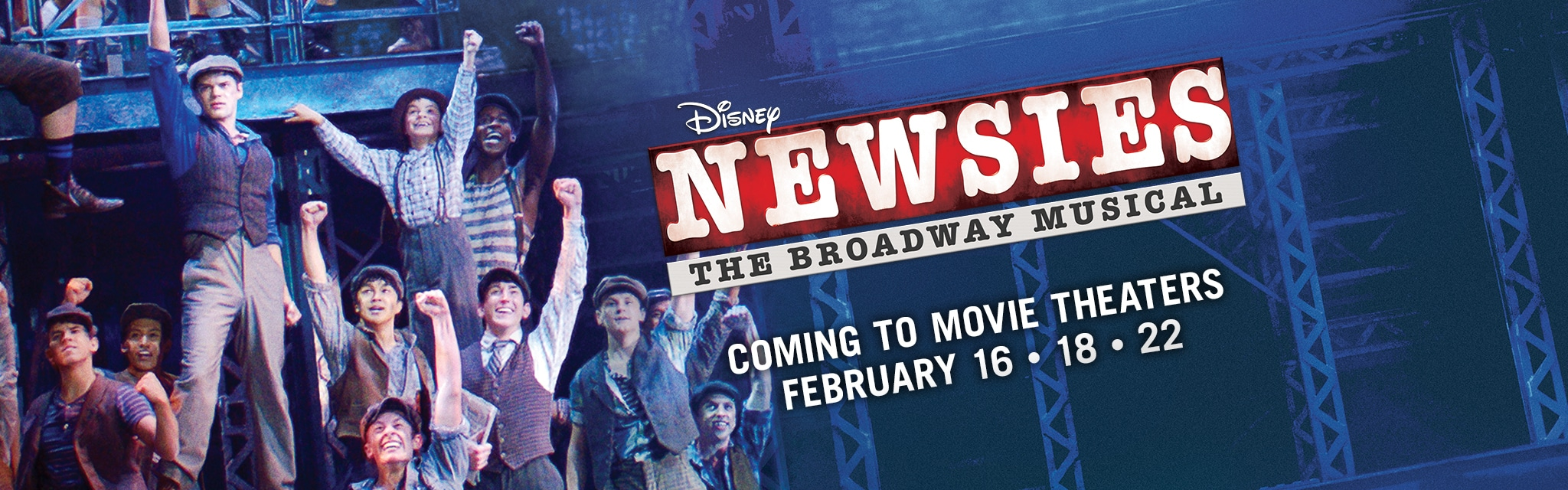 Disney on Broadway in Theaters - Newsies - Hero