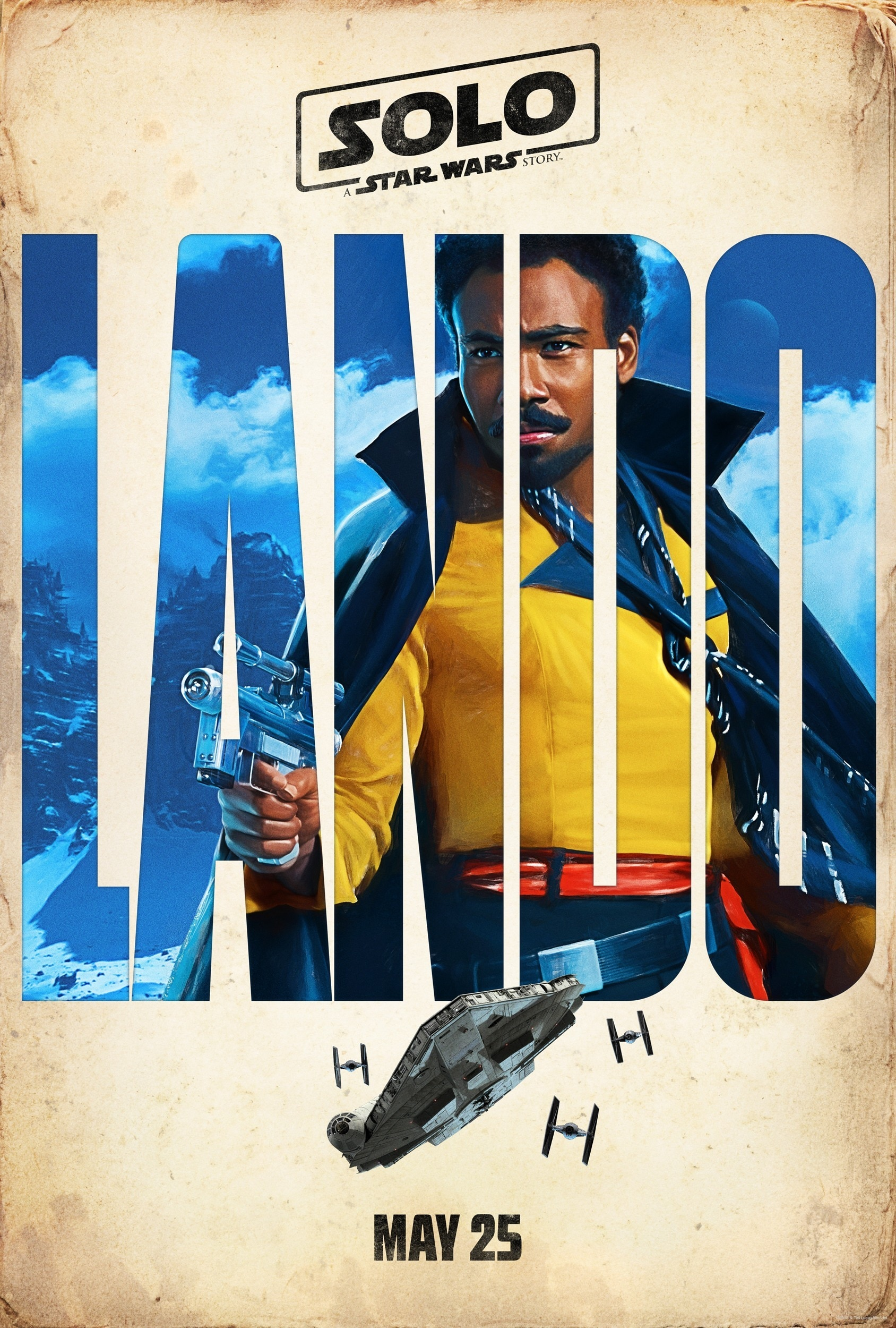 lando poster from solo