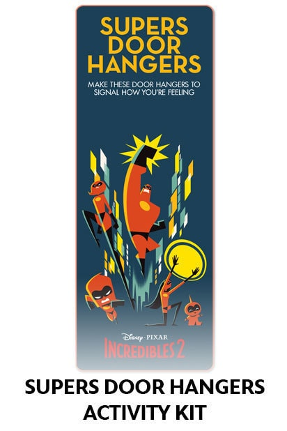 Incredibles 2 - Door Hanger