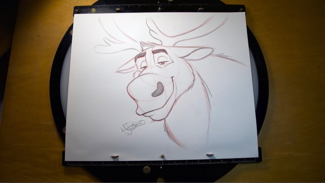 "How to Draw Sven From ""Frozen 2"""