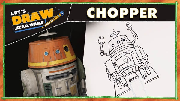 Let's Draw! Chopper