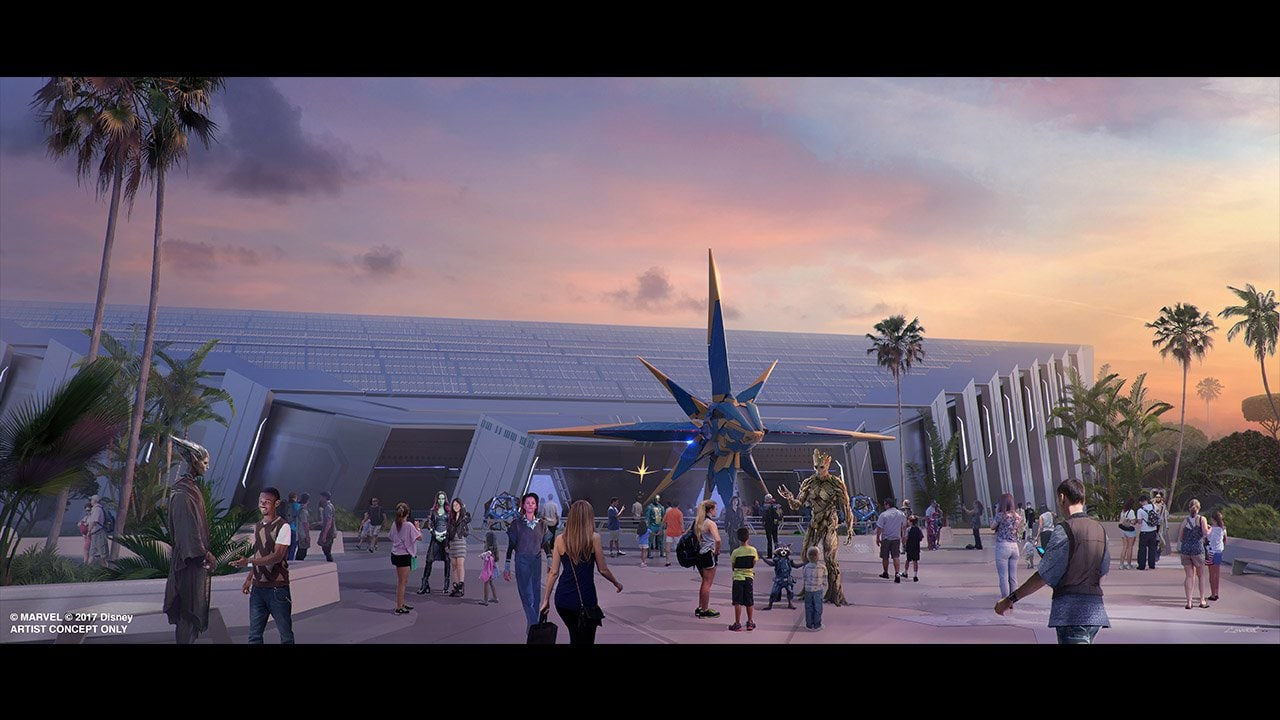 guardians of the galaxy attraction