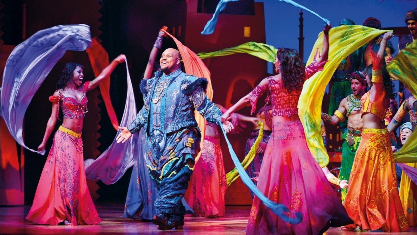 A still from Aladdin the Musical