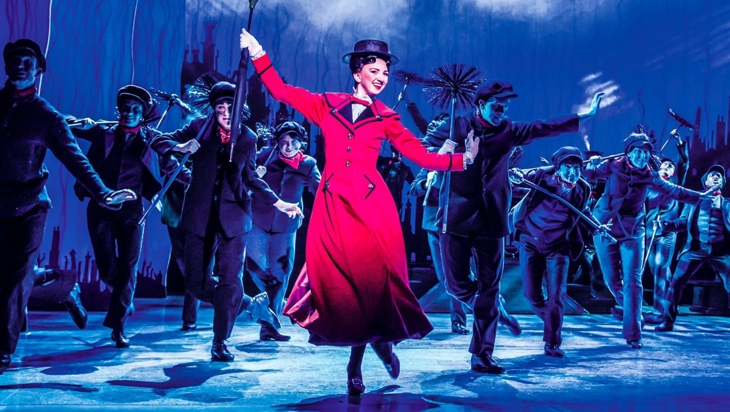 A still from Mary Poppins the Musical