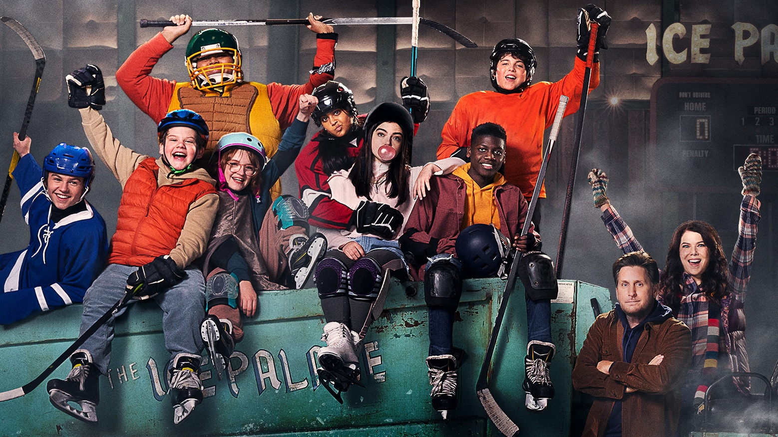 The Mighty Ducks: Game Changers - Key Art