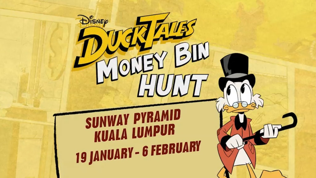 DuckTales makes it way to Sunway Pyramid!