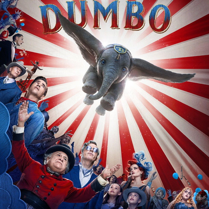Our Hearts Are Soaring After Watching the Official Trailer for Tim Burton's Dumbo