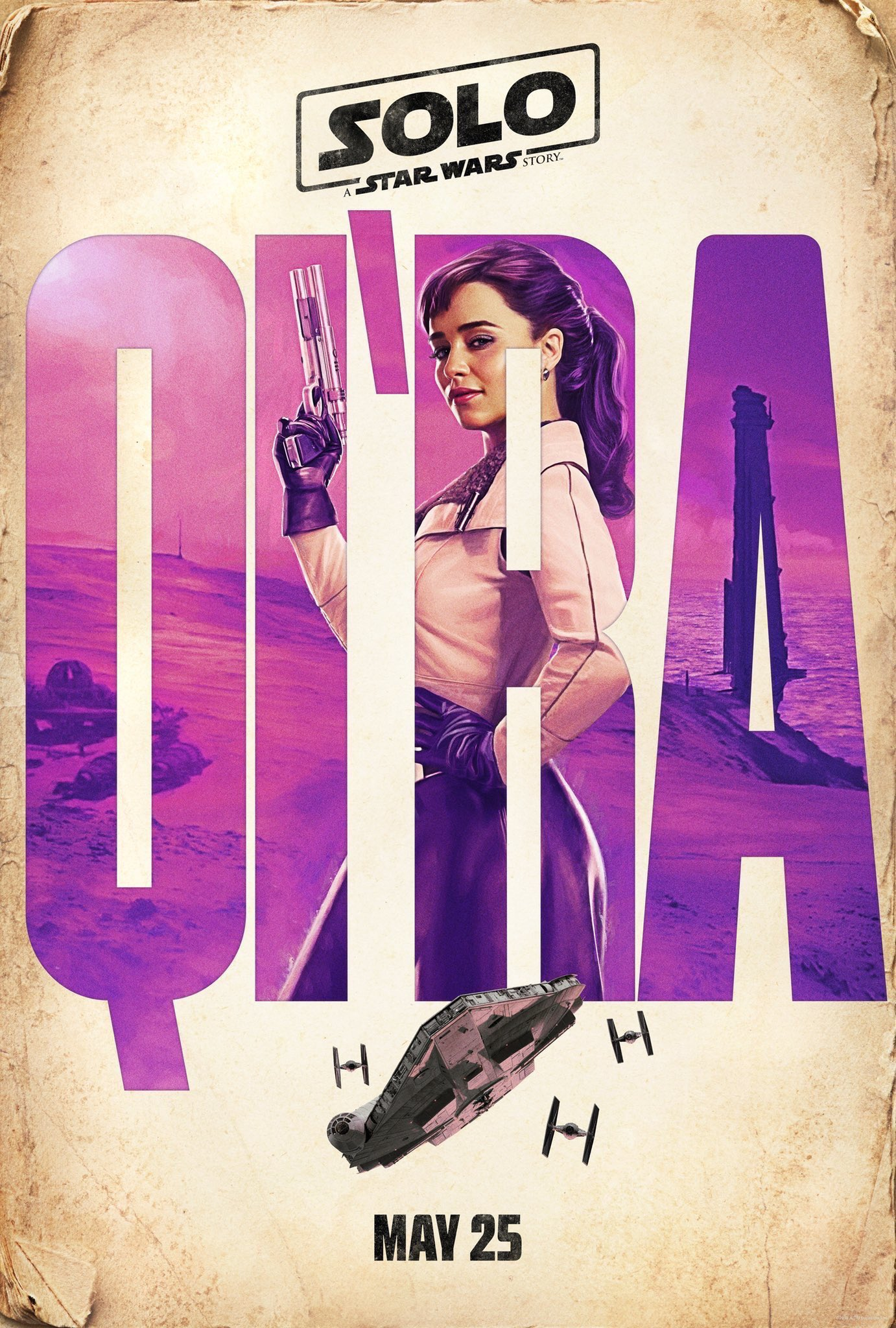 qi'ra poster from solo