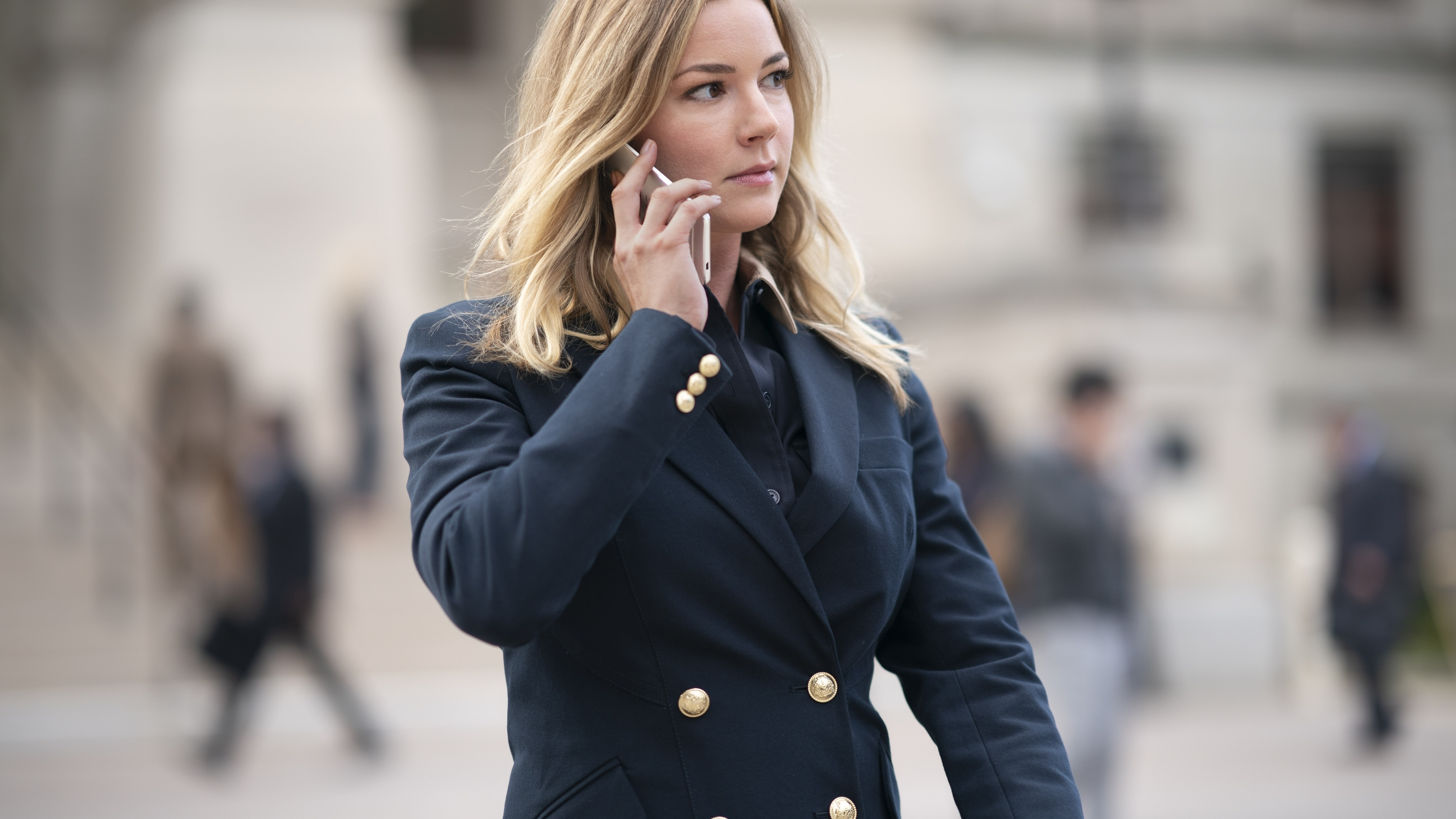 Sharon Carter/Agent 13 (Emily VanCamp) in Marvel Studios' THE FALCON AND THE WINTER SOLDIER exclusively on Disney+. Photo by Eli Adé. ©Marvel Studios 2021. All Rights Reserved.