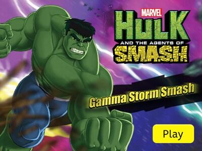 Jeu Hulk et les Agents du S.M.A.S.H. - Explosion de rayons gamma