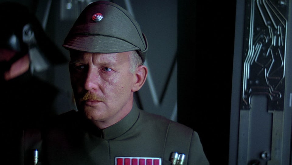 Admiral Ozzel from Star Wars is Rebel Spy