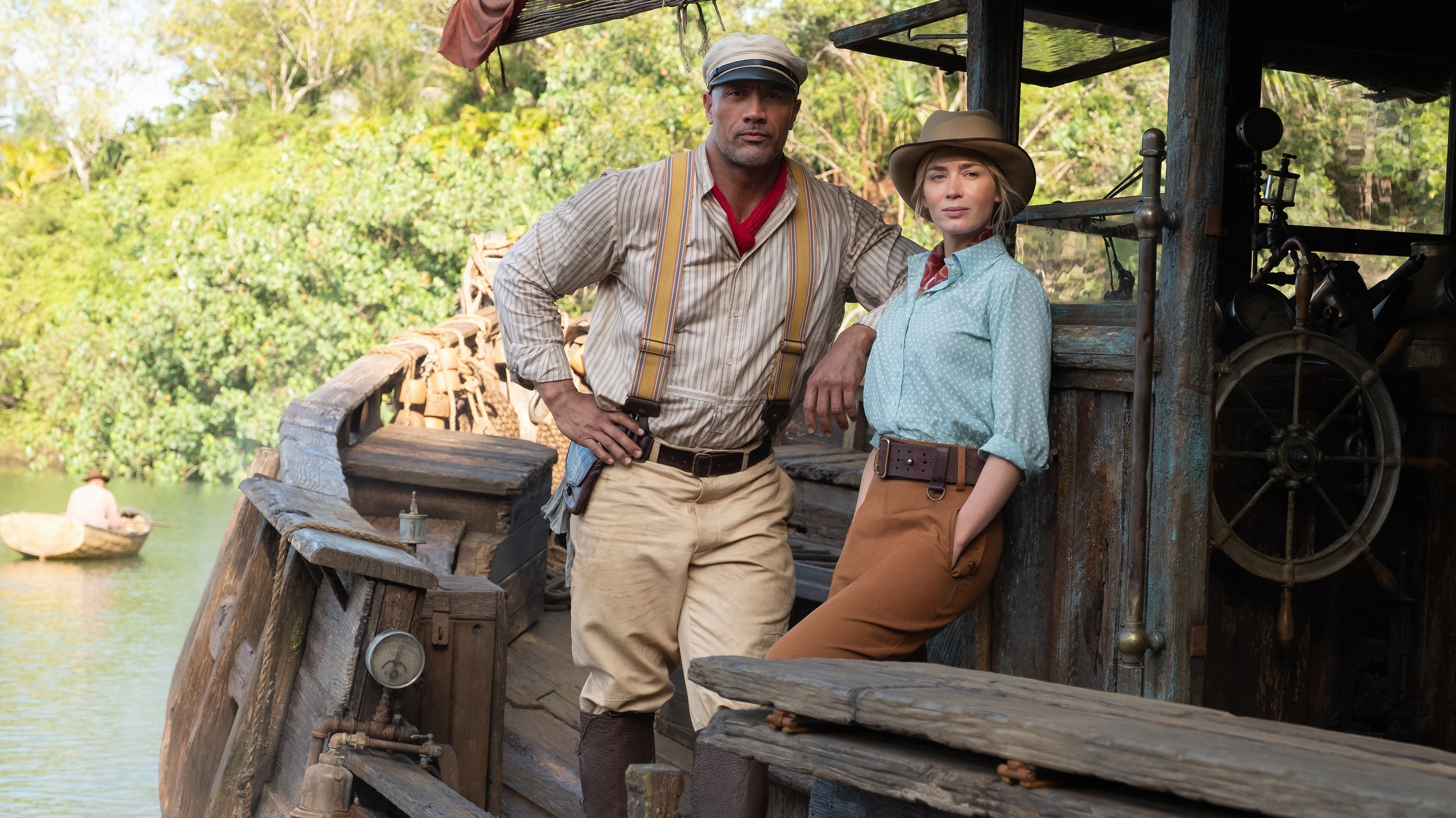 Interviews on the Set of Disney's Jungle Cruise With the Cast and Crew