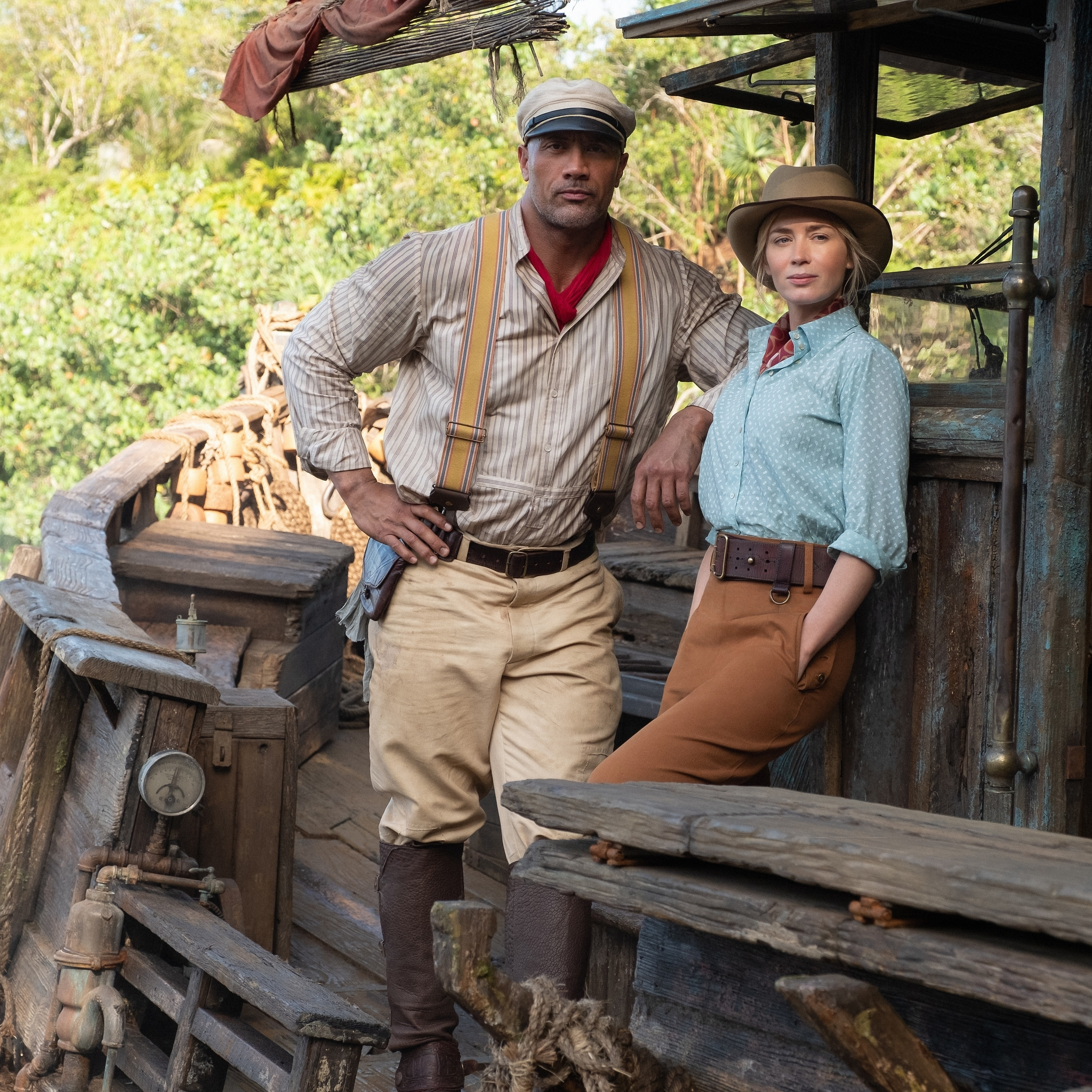 "Disney's ""Jungle Cruise"" Starring Dwayne Johnson And Emily Blunt To Debut In Theaters And On Disney+ With Premier Access July 30"