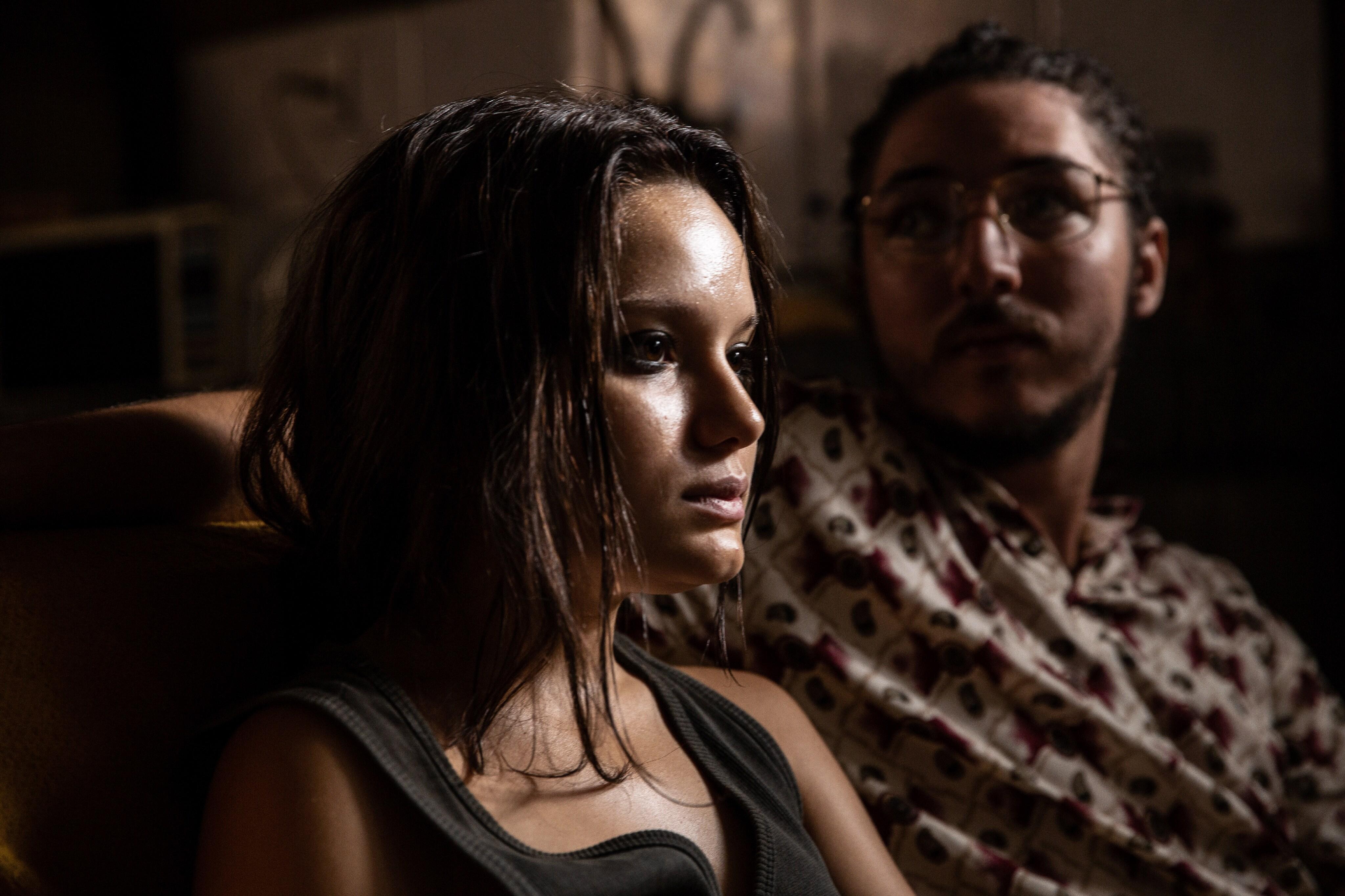 Inês (Karize Brum) e Afonso (João Vitor Silva) - Foto de Rachel Tanugi
