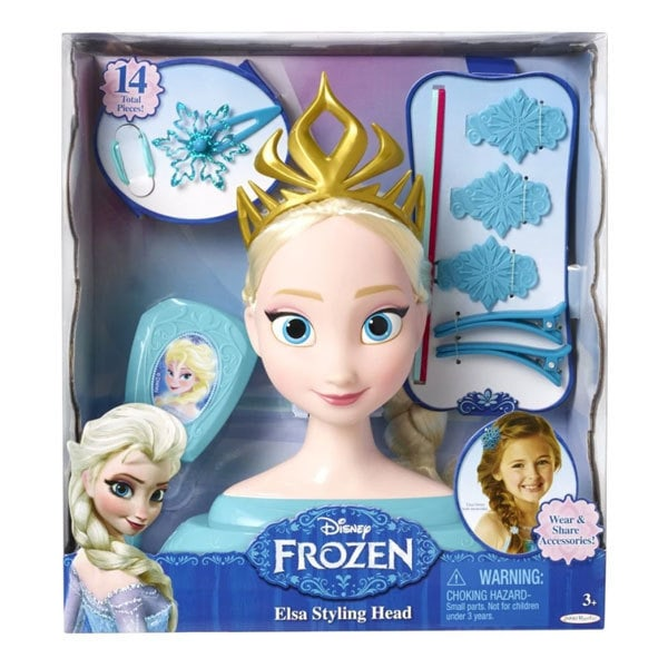 Disney Frozen Elsa Styling Head