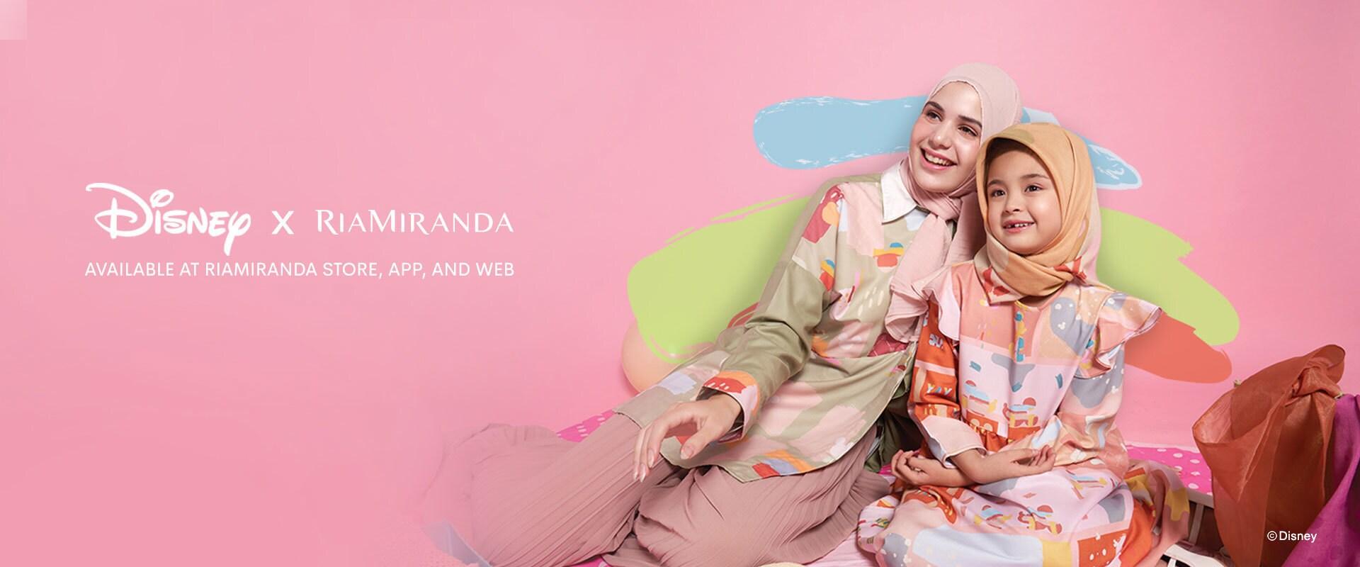 Shop Page Hero Banner - Ria Miranda Promotion