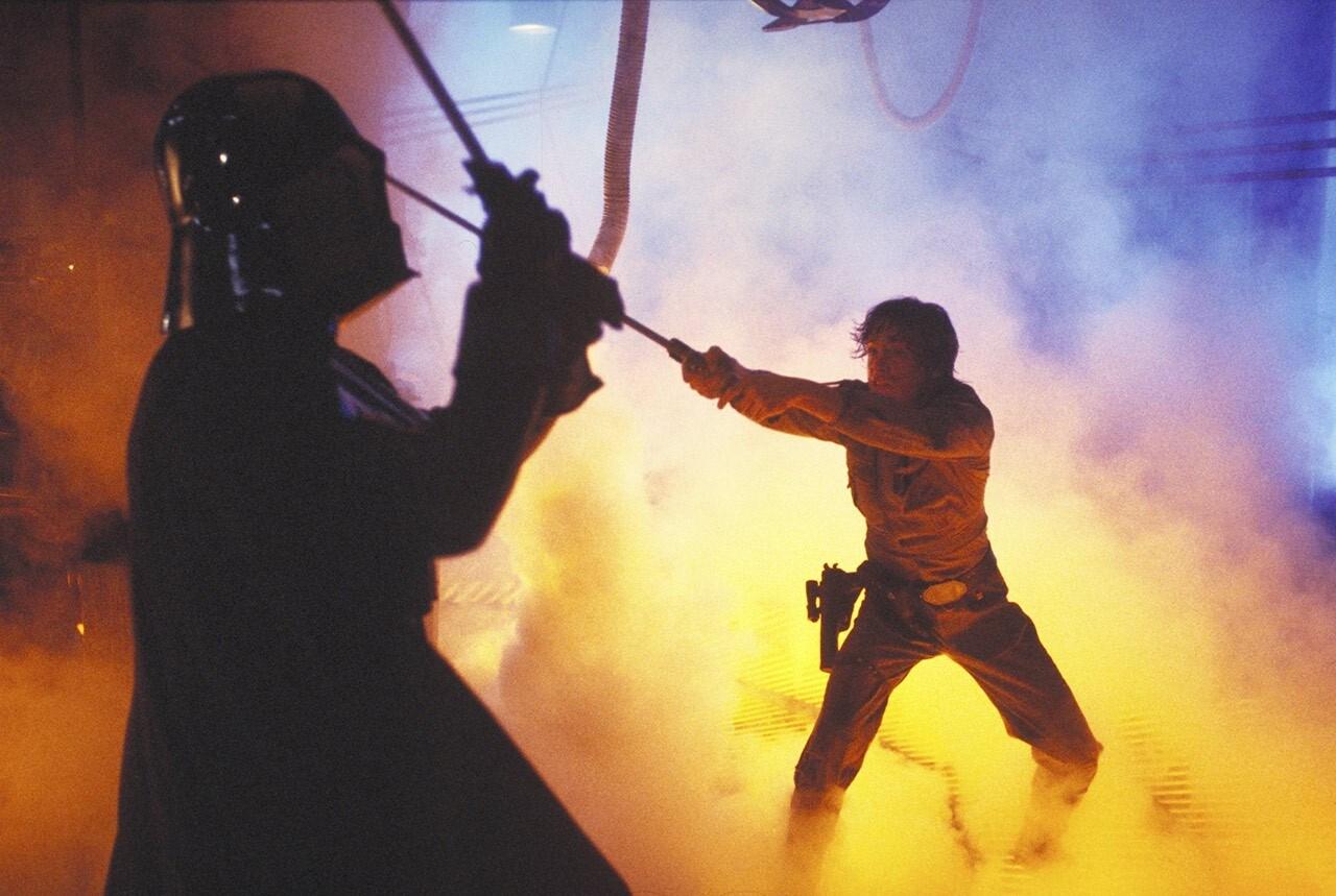 Duelo entre Darth Vader e Luke Skywalker