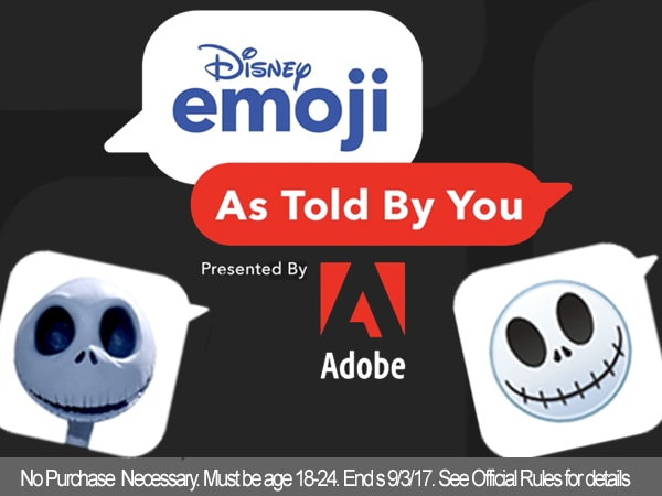 Win a chance to see how Disney & Adobe pros make magic!