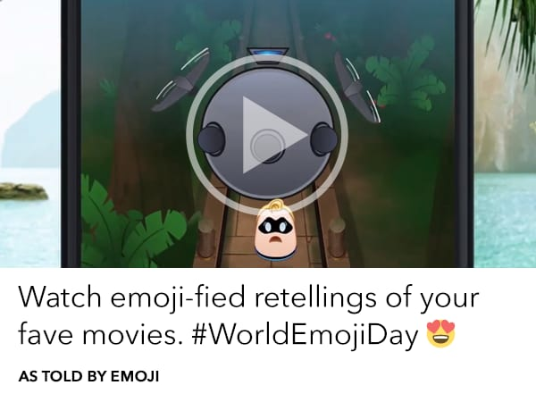 Watch emoji-fied retellings of your favourite movies