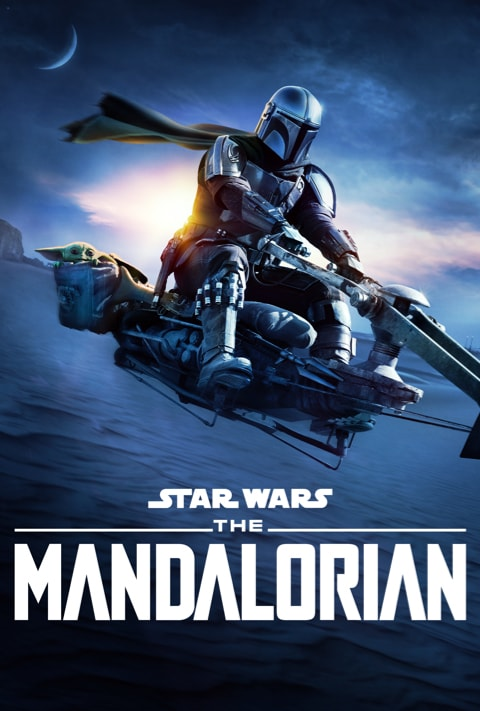 Disney Plus - The Mandalorian S2 - Poster