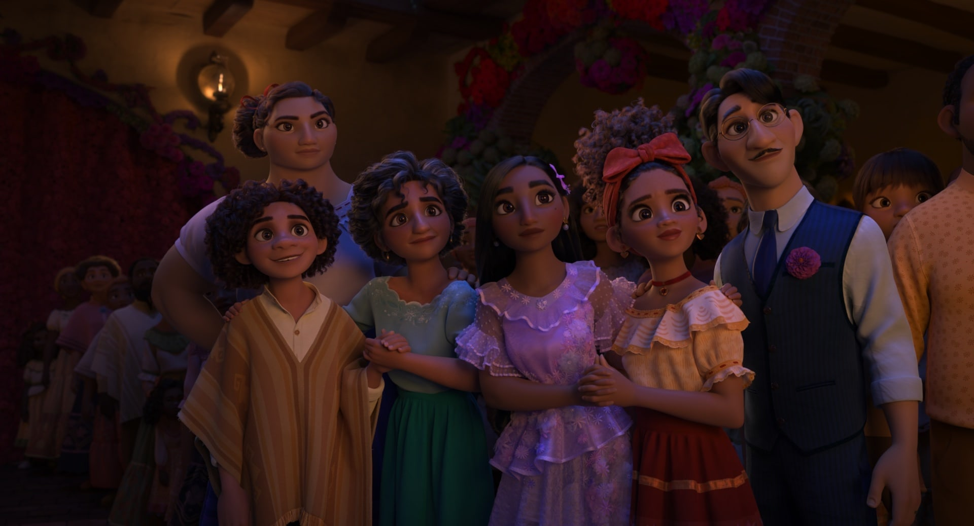From left: Antonio, Luisa, Julieta, Isabela, Dolores, and Agustín