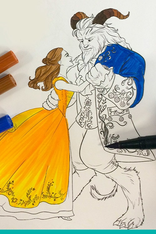 Enchanting Beauty And The Beast Activities