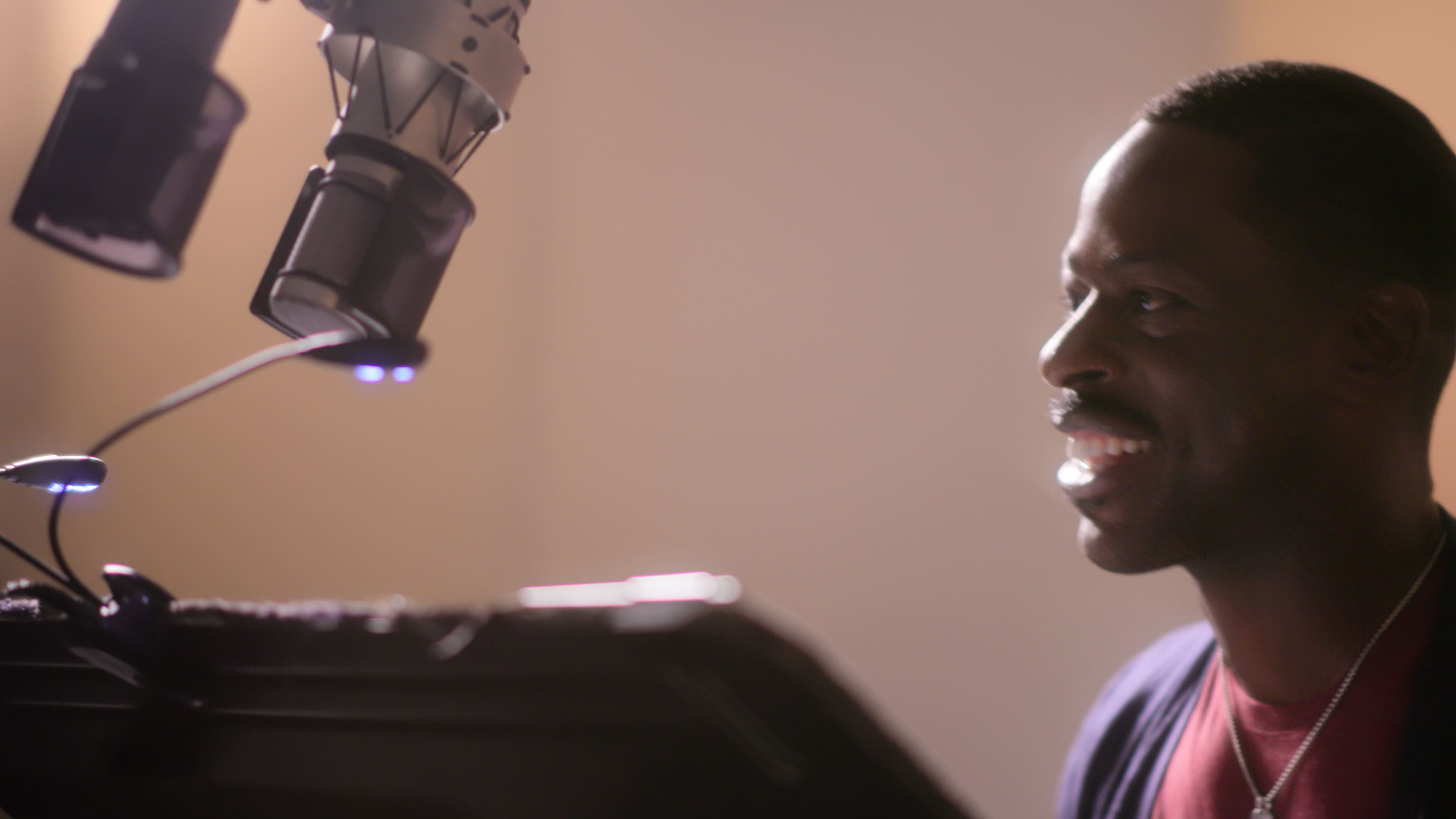 Sterling K. Brown recording Frozen 2