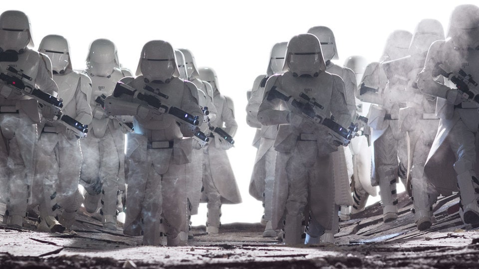 Image result for snowtrooper force awakens movie