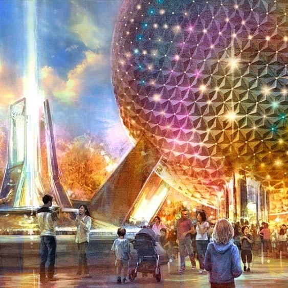 Wow! The Transformation of Epcot Looks Amazing