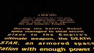 Star Wars: Episode IV A New Hope - Opening Crawl