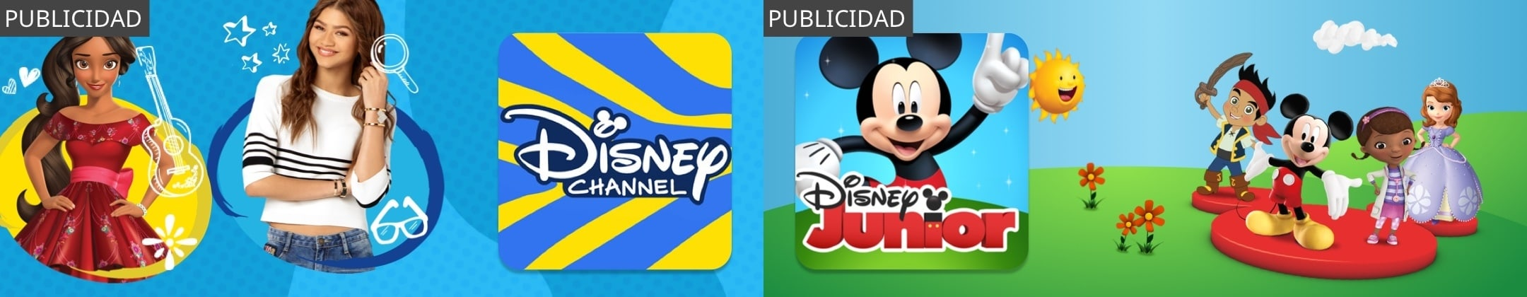 PUBLICIDAD - Disney Channel App & Disney Junior App