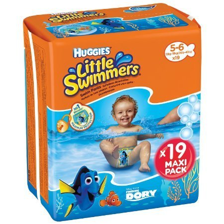 Baby Disney - Bañadores desechables Huggies Little Swimmers Talla 5-6