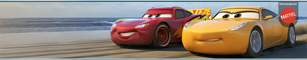Short Hero - Cars 3 Mattel Competition ES