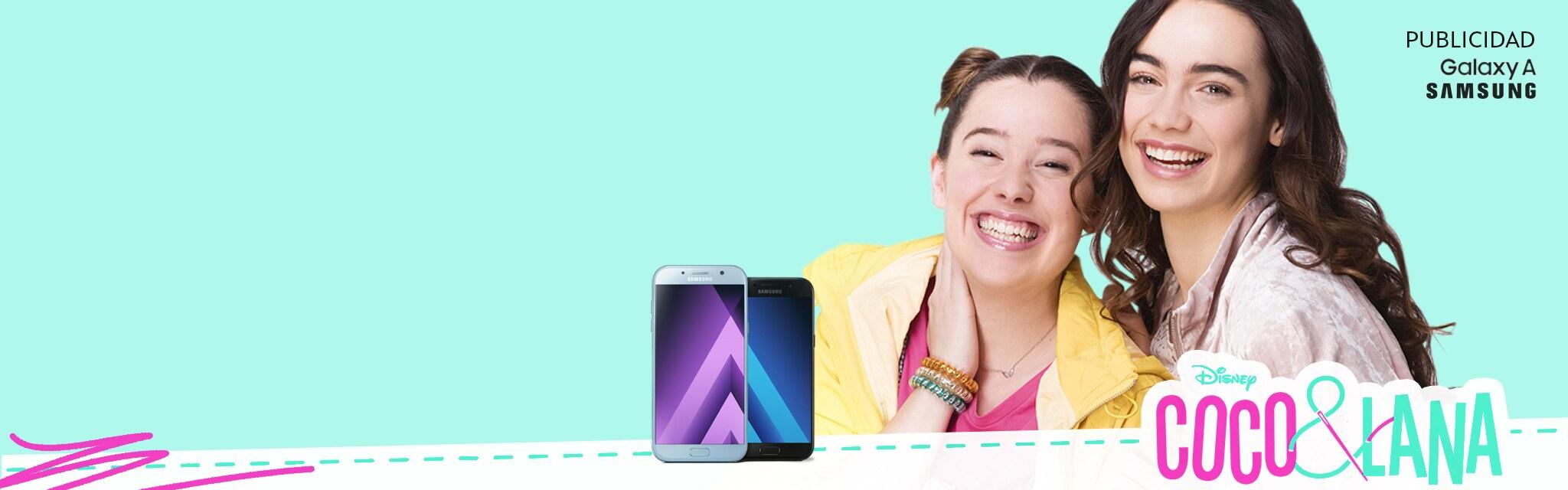 DM+: Samsung + Coco&Lana - Homepage (hero)