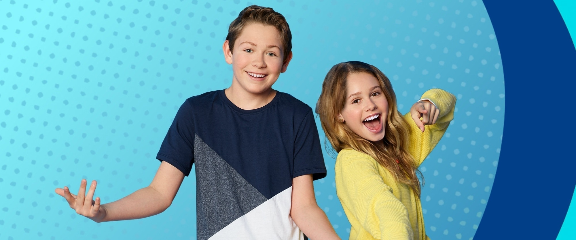 Coop & Cami en Disney Channel.