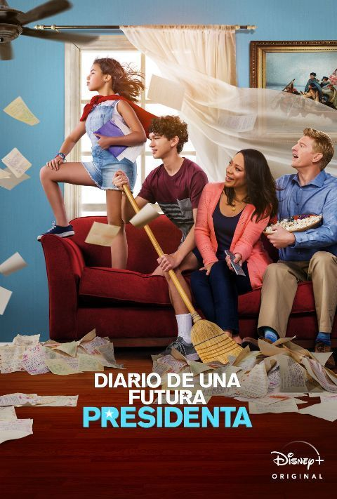 Disney Plus - Diary of a Future President - Poster
