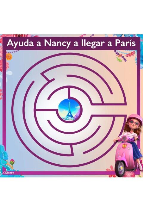 Actividad - Laberinto Fancy Nancy Clancy