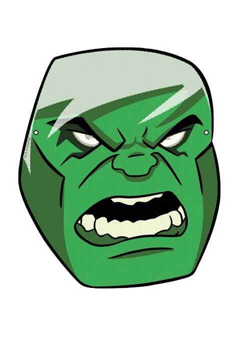 Actividad - Careta Hulk