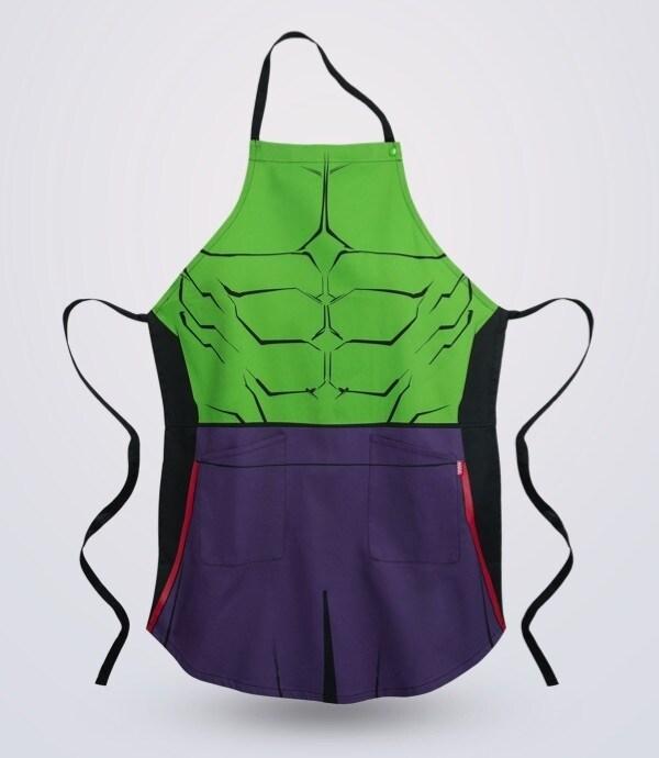 Delantal Hulk