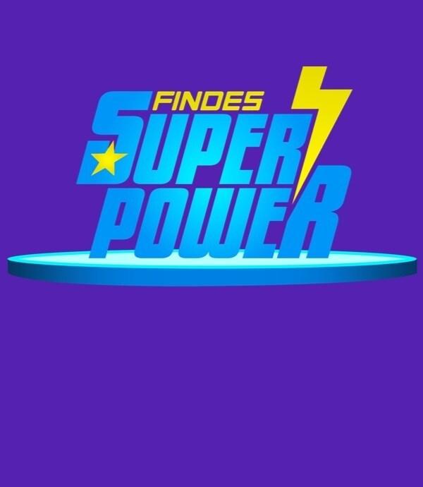 Logo Findes Super Power