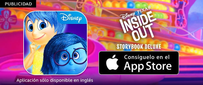 Inside Out - Storybook Deluxe App