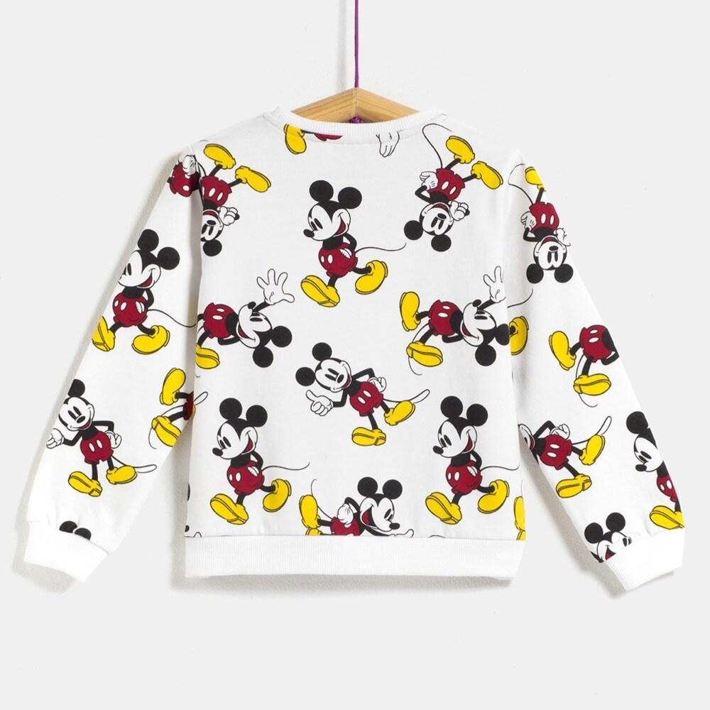 Carrefour | Parka negra Mickey