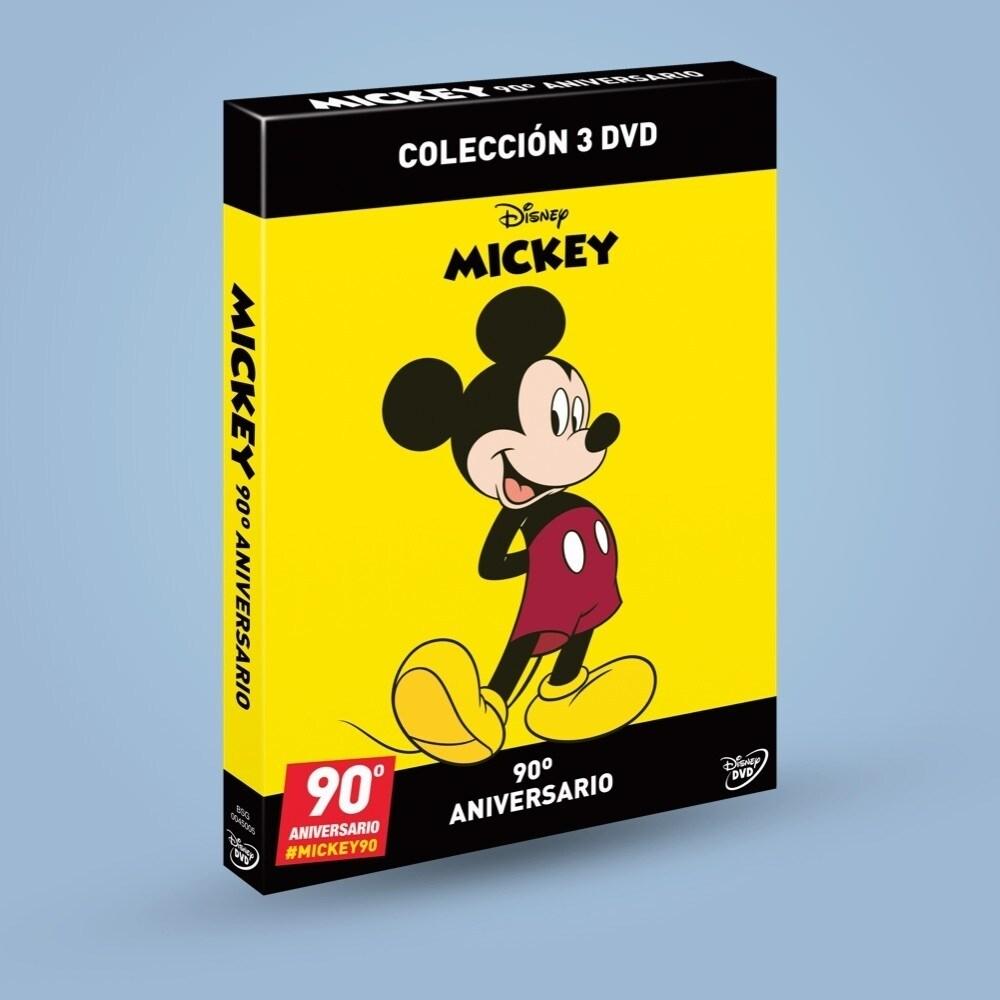 El Corte Inglés | Colección 3 DVD's Mickey 90 aniversario