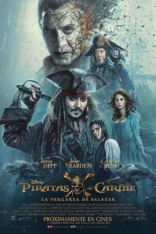 Piratas del Caribe: La venganza de Salaza