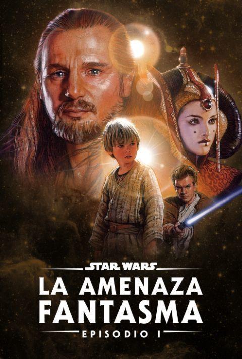 Disney Plus - Star Wars - Episode 1 - The Phantom Menace - Poster