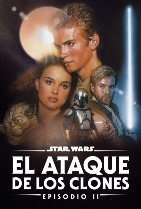 Disney Plus - Star Wars - Episode 2 - Attack of the Clones - Poster