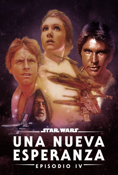 Disney Plus - Star Wars - Episode 4 - A New Hope - Poster