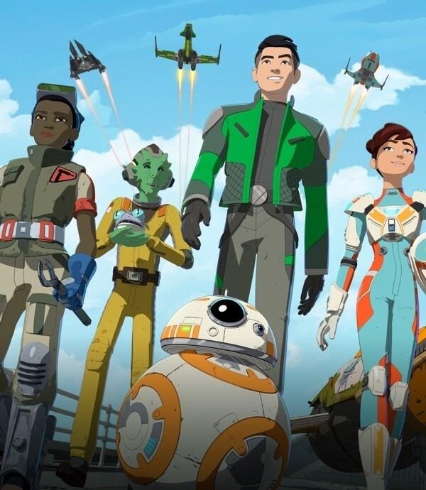 Star Wars: La Resistencia en Disney XD