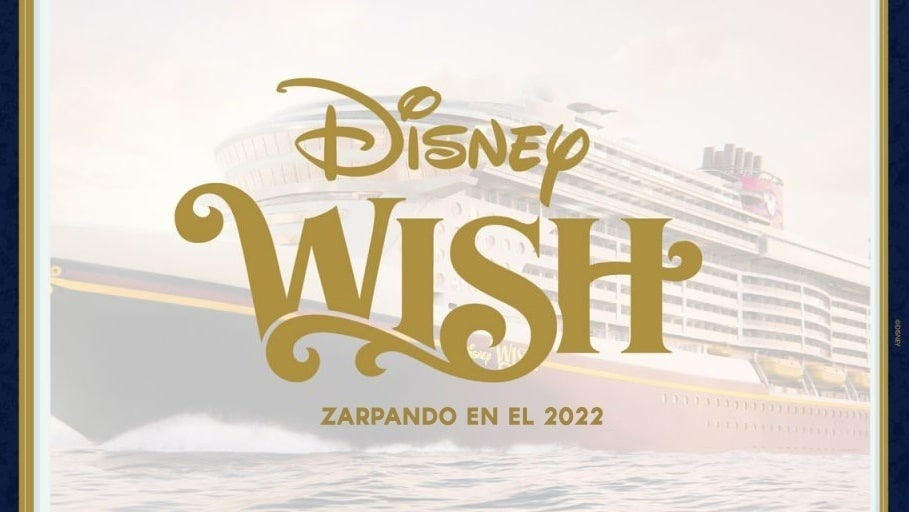 Disney Cruise Line revela un video nunca antes visto de su próximo barco, el Disney Wish